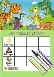 Dinosaur Potty Training Reward Chart 43 Timeless Dinosaur Toilet Training Chart