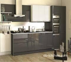 high gloss grey acrylic modern custom kitchen cabinet loading zoom
