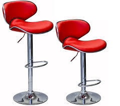 bar stool set. ViscoLogic Series OASIS Height Adjustable Swivel 24 To 33 Inch Bar Stool ( Set Of 2 Stools)