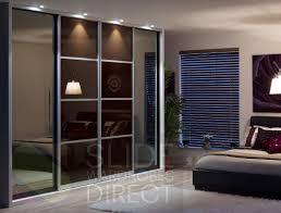 entrancing alluring laminate floor glossy design plus interior glass doors with sliding closet doors