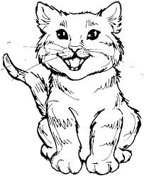 Cat Coloring Pages Printable Coloring Pages With Cats Cat Coloring