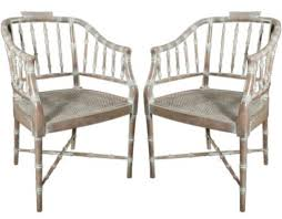 painting bamboo furniture. Pair Of Carved Oak Bamboo Style Chairs Consider White To Painting Furniture