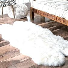 white fur rug ikea sheepskin area rug ikea white fake fur rug