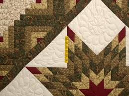 Lone Star Log Cabin Quilt -- wonderful carefully made Amish Quilts ... & ... Earthtones Lone Star Log Cabin Quilt Photo 4 ... Adamdwight.com