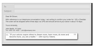Email Signature Quotes Amazing Signature Quotes For Emails Best Quote 48