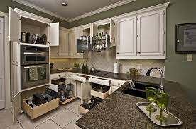 Small Kitchen Organizing Kitchen Room Small Kitchen U Shaped Charcoal Granite Countertop