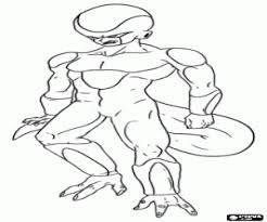 Freezer Antagonista Di Dragon Ball Da Colorare E Stampare