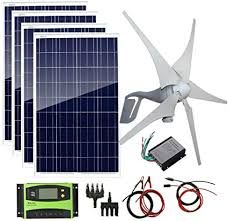 AUECOOR 800W 12V 24V Solar Panel Wind Turbine ... - Amazon.com