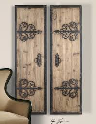 rustic wrought monogram traditional classic design reclaimed decorative iron wall art two framed carved object old  on rustic metal wall artwork with wall art marvelous decorative iron wall art gallery wrought iron