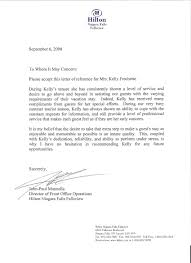 Letter Of Recommendation From Former Employer The Letter Sample