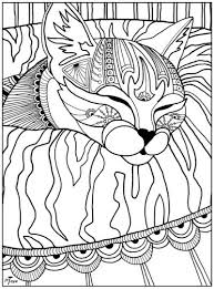 Cat Coloring Pages For Adults Elegant 1000 Images About Adult