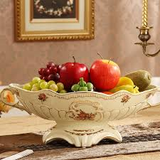get ations large european retro luxury ceramic fruit plate fruit bowl fruit plate coffee table ornaments fashion creative