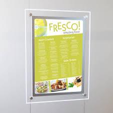 Menu Display Stands Restaurant Restaurant window menu Wire display stand hanging signs 48