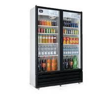 torrey vrd28 glass two door display cooler refrigerator