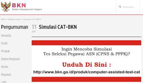 Bukan hanya itu saja melainkan kamu juga bisa mendownload soal cat cpns di pc atau laptop kamu entah itu windows 7 8 dan 10. Latihan Soal Cat Cpns Di Bkn Go Id Dunia Info Dan Tips