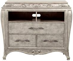 rhianna silver patina upholstered panel bedroom set media gallery 9