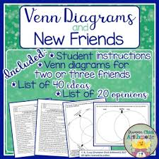 Student Venn Diagram Venn Diagram Back To School Activity By Drummer Chick Arithmetic