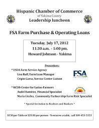 FSA Farm Purchase & Operating Loans