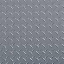 midnight black commercial grade vinyl garage flooring cover and protector gf75dt1024mb the home depot