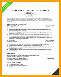 Pharmacy Technician Resume Examples Best Pharmacy Technician Resume Sample Pharmacy Technician Resume Example