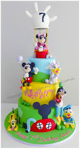 Minnie Mouse Clubhouse Birthday Cake Birthday Cakes For Kids By