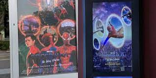 Theaters are using fan posters ...