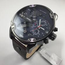 men s diesel mr daddy 2 0 4 time zone oversize watch dz7314