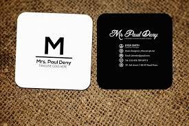 Small Social Media Business Card