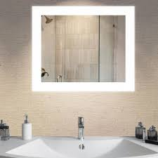 lighted mirror bathroom. LED Wall Mounted Backlit Vanity Bathroom Lighted Mirror C