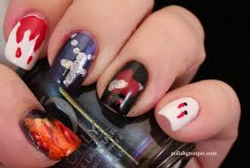 30 Day Challenge Day 29 – Supernatural: Vampire Nail Art | Polish ...
