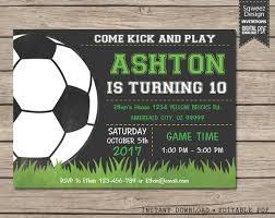 Soccer Party Invitations Soccer Invitation Soccer Luxury Soccer Party Invitations Birthday