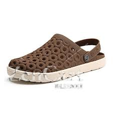 xiaoqin mens summer garden clogs anti slip water shoes breathable sandals slippers outdoor beach