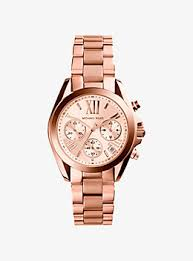 rose gold tone bradshaw rose gold tone stainless steel watch · michael kors