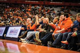 Carrier Dome Basketball Seating Chart Rows Courtside Seats Offer Glamour Sweat And About 2 Million In