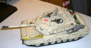 unimax toys. image 2 : model tank stamped *2003 unimax toys* large u.s. m1a1 abrams unimax toys