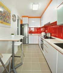 Long Narrow Kitchen Ideas Long Narrow Kitchen With Dining Table
