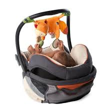 carrier toy bar. bright starts™ simply 2-in-1 foxy forest toy bar carrier