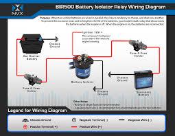nvx bir500 500 amp relay isolator bir500 bir500 jpg