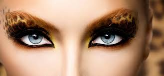 leopard eye makeup eye makeup in home