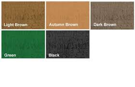 Wood Preservers And Exterior Wood Stains Colour Charts