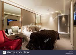 Luxuriöse Wohnung In Belgravia London Master Schlafzimmer Textile