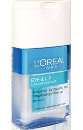 l oreal paris eye lip make up remover