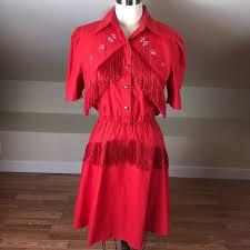 Lilia Smith Dresses | Vintage 8s Lilia Smith Western Collared Dress |  Poshmark