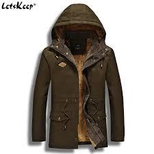x201711 2017 letskeep mens winter jacket for men fleece inside hooded parka jackets and coats men military park er m 3xl 4xl ma426 high quality winter