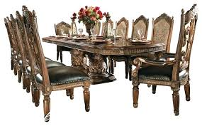 victorian dining room set kitchen tables 8 piece villa dining room table set with china victorian