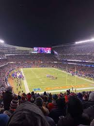 Soldier Field Chicago Bears Seating Chart Soldier Field Section 354 Home Of Chicago Bears