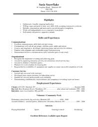 High School Student Resume Objective Examples Cover Letter Example