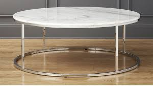 smart large round marble top coffee table reviews cb2 pertaining to plan 0