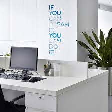 office deco. Paperflow Office Deco Wall Transfers, If You Can Dream It\u2026 9\ Office Deco -