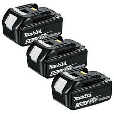 makita battery. makita bl1830x3 18v lxt 3.0ah li-ion battery triple pack product avaliable